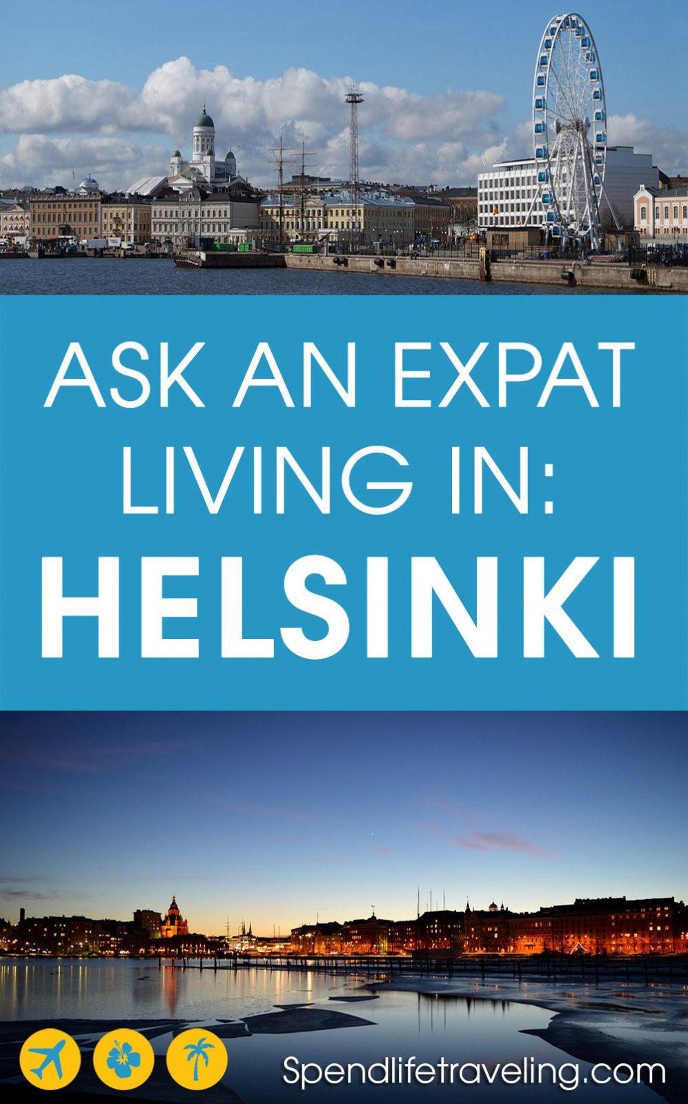 expats living in Helsinki, Finland