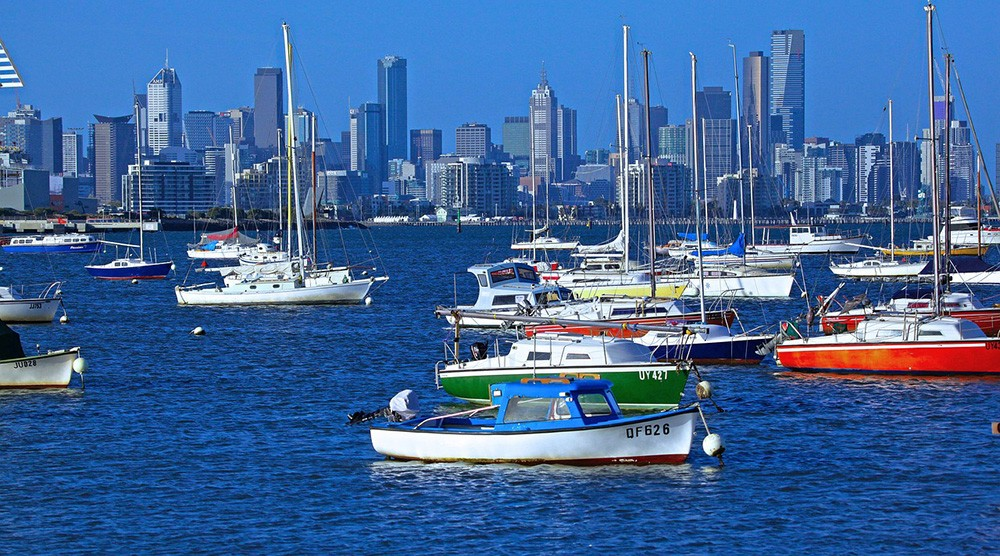 living in Melbourne