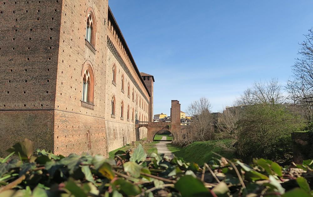 Ką pamatyti Pavijoje: Visconti pilis