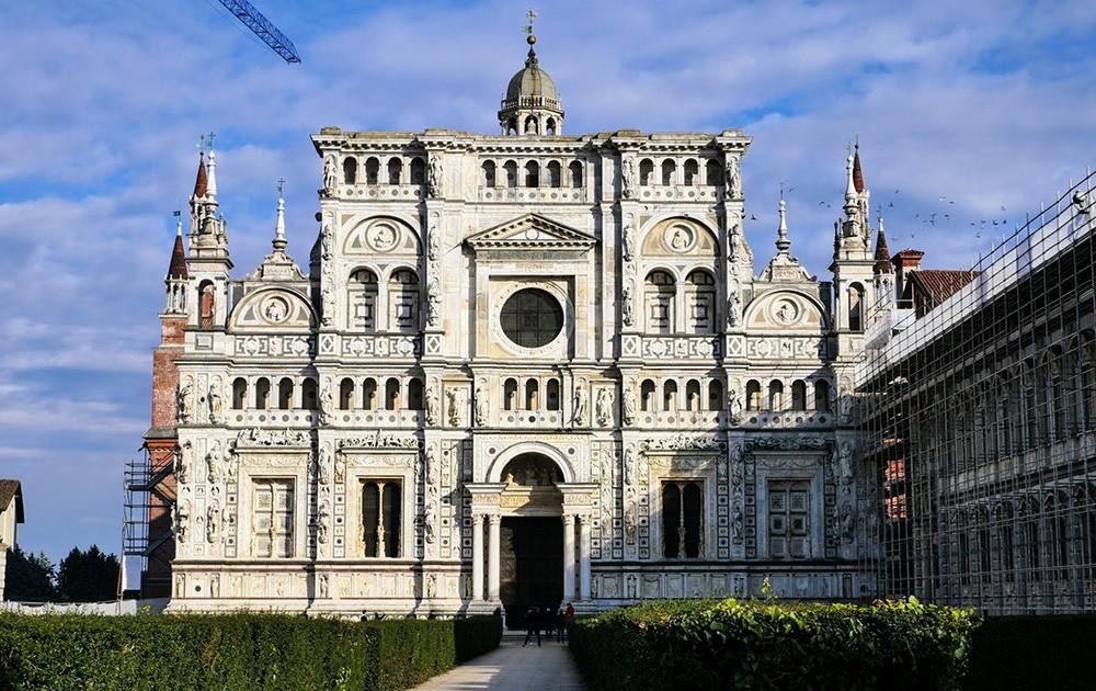 Ką pamatyti Pavia: Certosa di Pavia