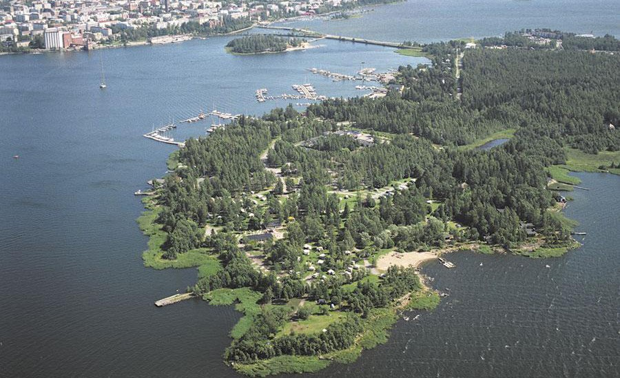 Vaasa travel tips: camping in Vaasa