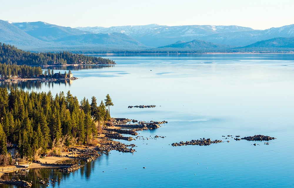 best camping spots in California: Lake Tahoe