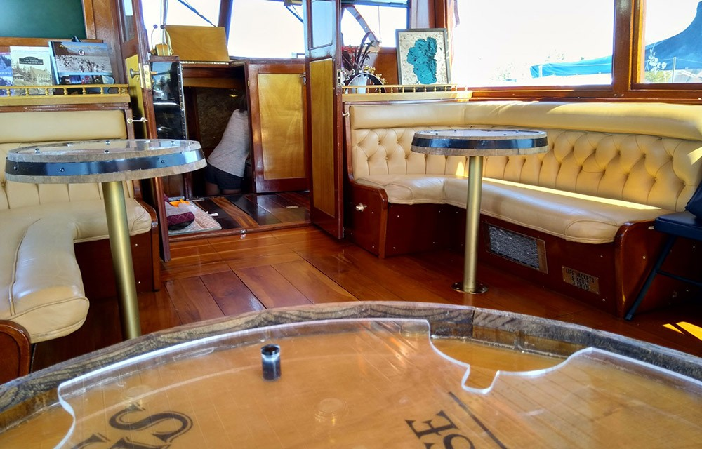 Things to do in South Lake Tahoe; wine tasting cruise