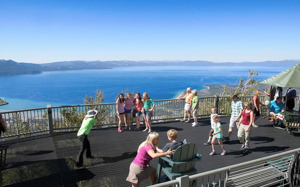 South Lake Tahoe things to do: Heavenly Ski Resort