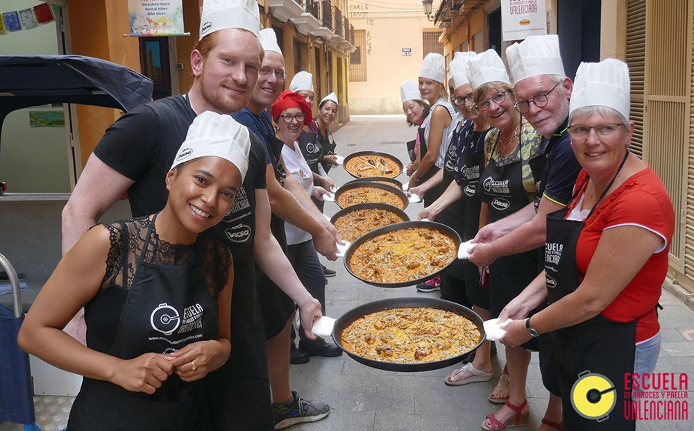 Paella cooking class in Valencia, Spain