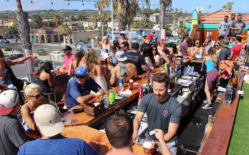 El Prez rooftop bar in San Diego