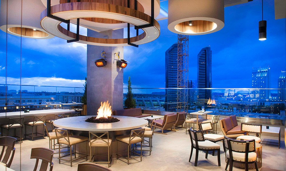 Best rooftop bars in San Diego