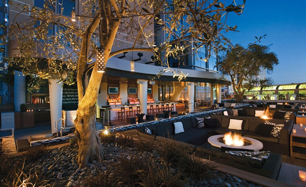 Good rooftop bar in San Diego: Float at Hard Rock Hotel