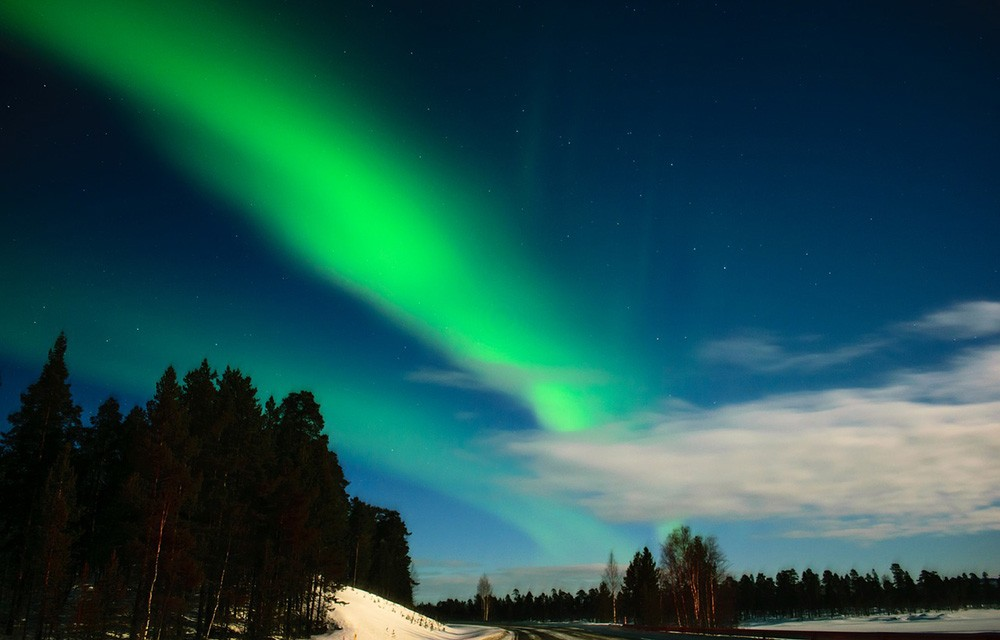 Best time of year to see the northern lights in Lapland, Finland