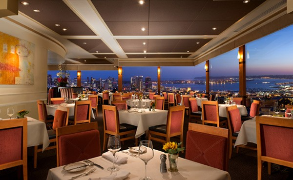 Rooftop restaurants in San Diego: Mister A's