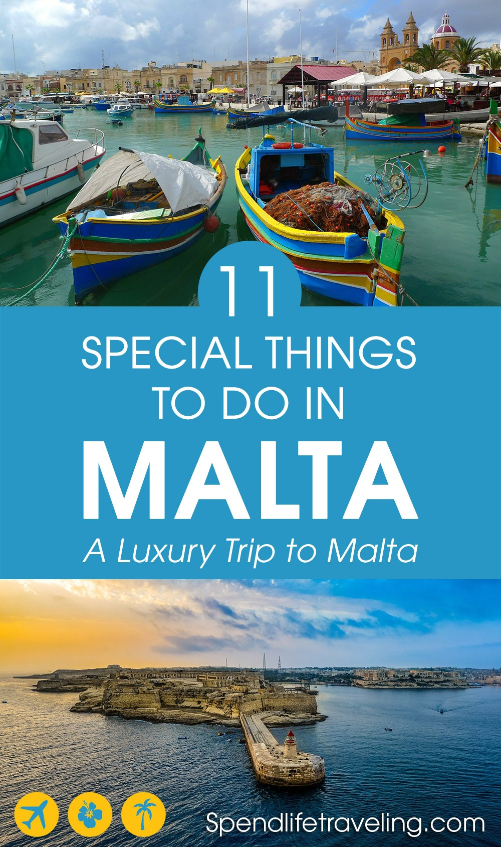a luxury vacation in Malta