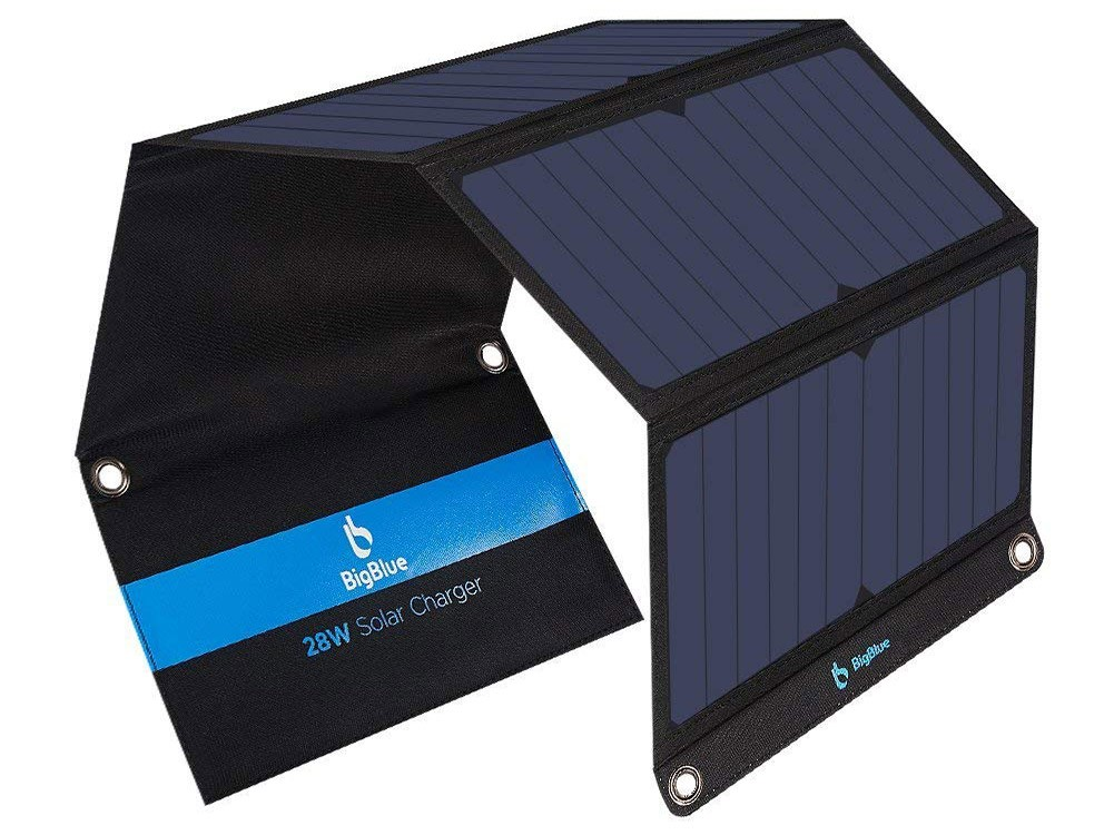 gifts for nomads: a solar power bank