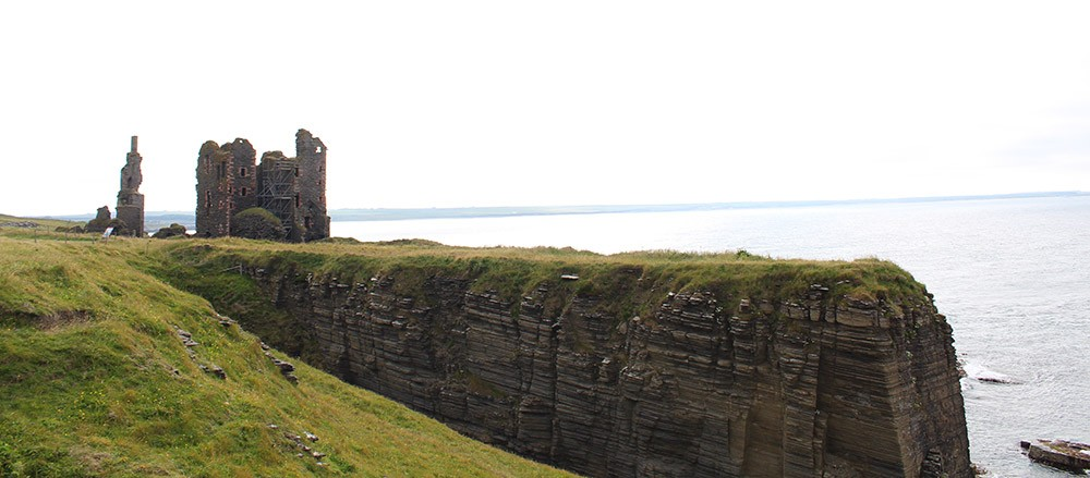Day 2 of the North Coast 500 itinerary in Scotland - Castle Sinclair