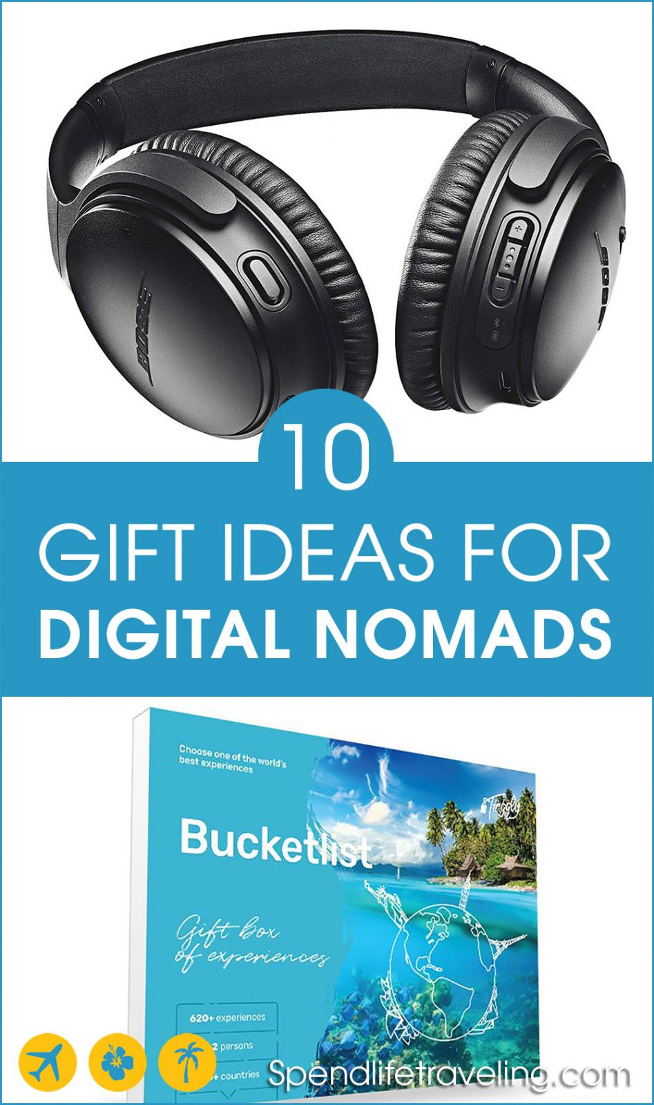 10 gift ideas for digital nomads, business travelers and travel lovers