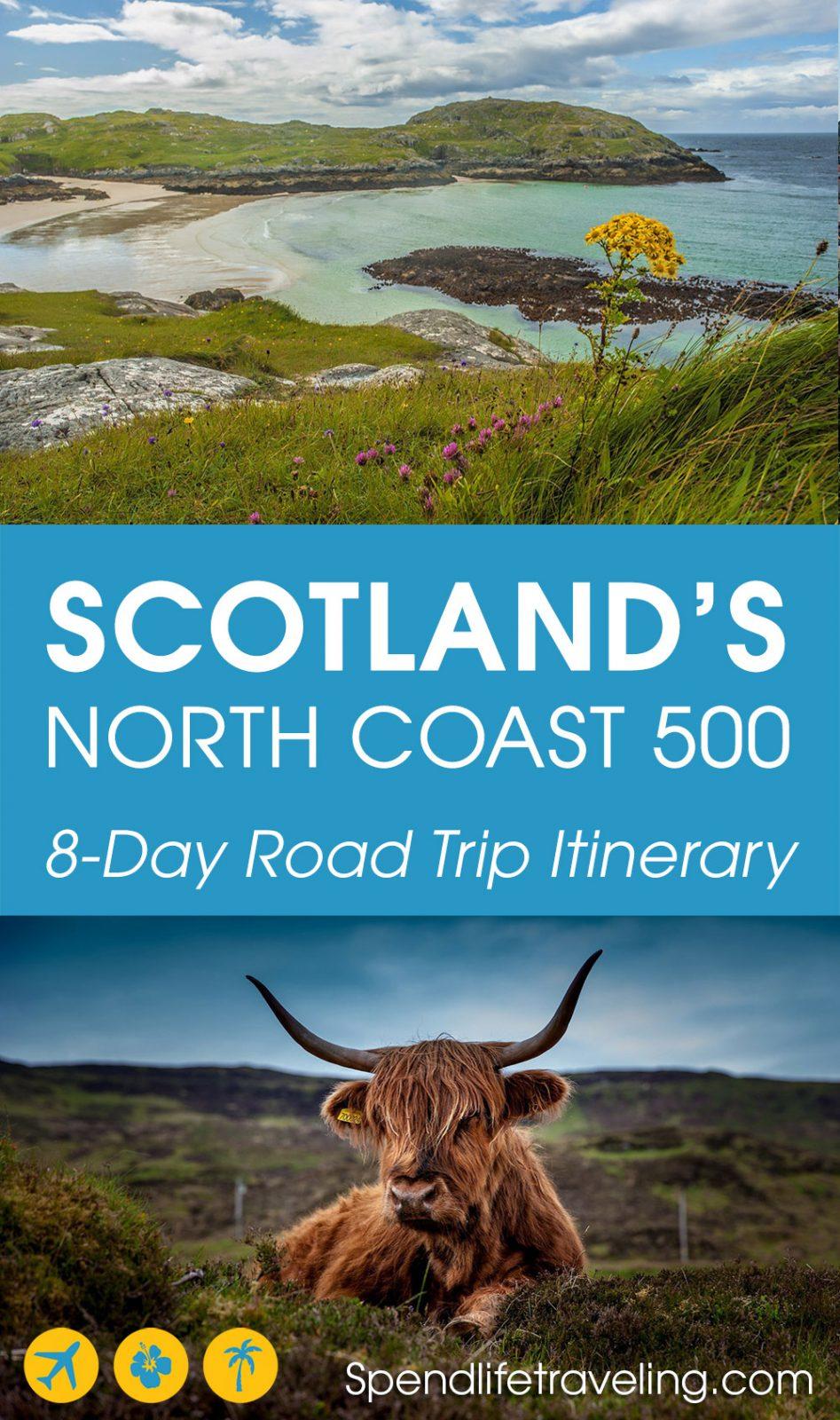 Scotland's North Coast 500 itinerary