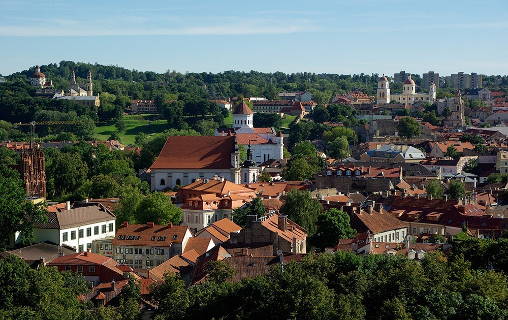 Top places to visit in Lithuania: Vilnius