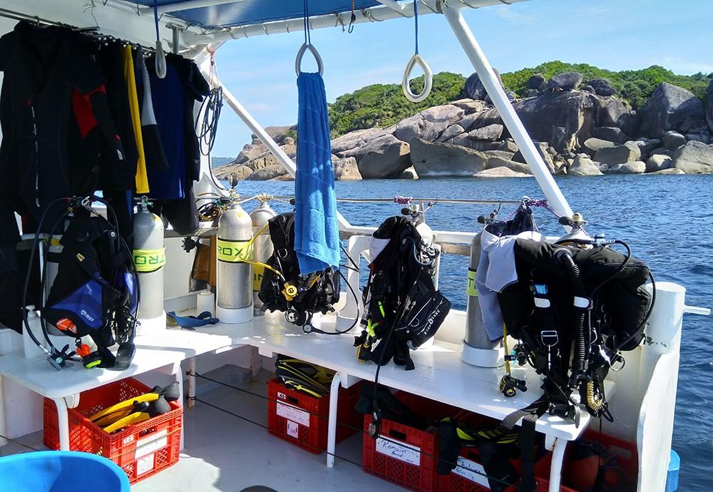 Similan Islands liveaboard trip - boat review