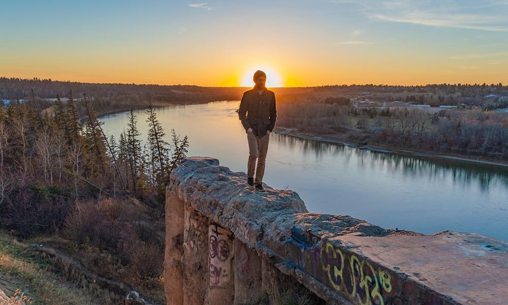 Ben, an expat in Edmonton, Alberta