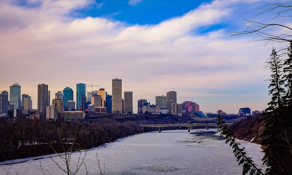 life in Edmonton, Canada