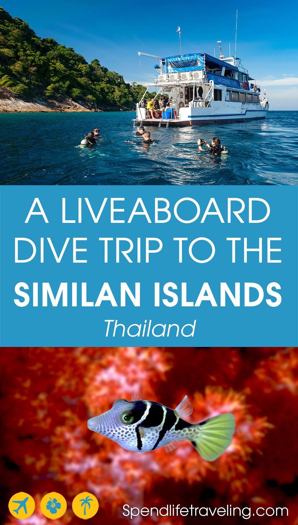 a liveaboard diving trip to the Similan Islands