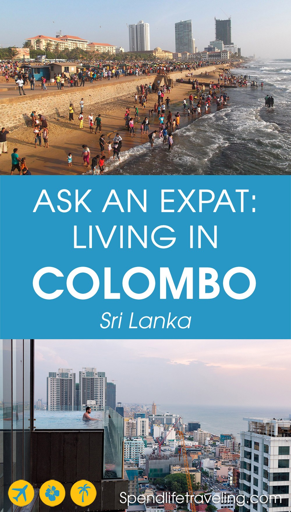 Interview about moving to and living in Colombo, Sri Lanka