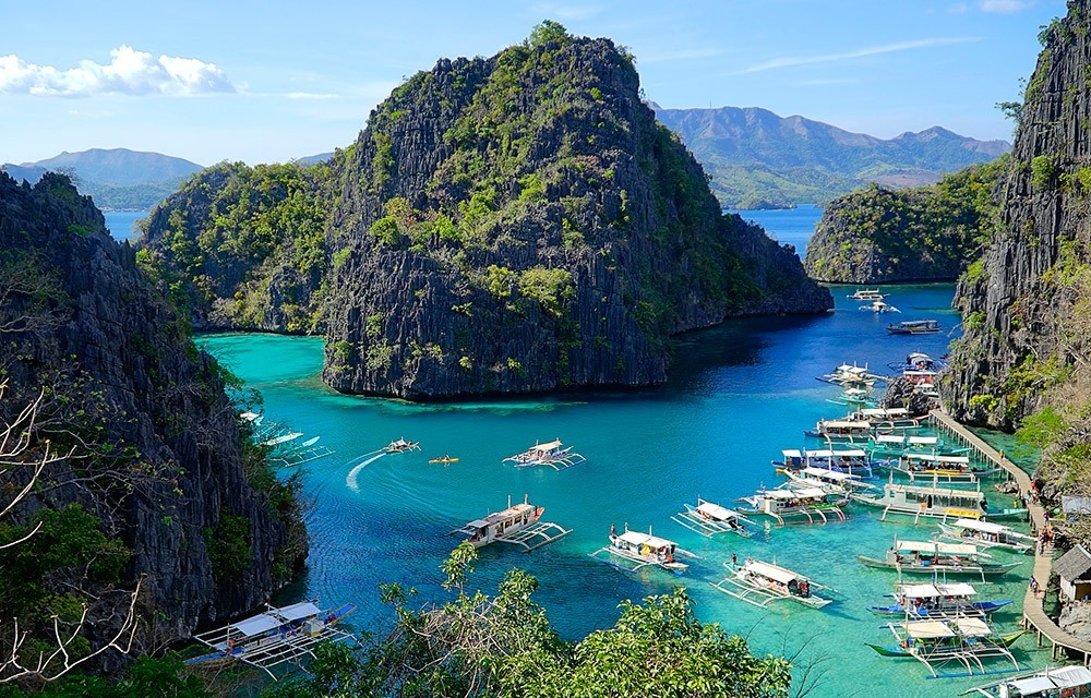 Best snorkeling spots in Palawan - Kayangan Lake