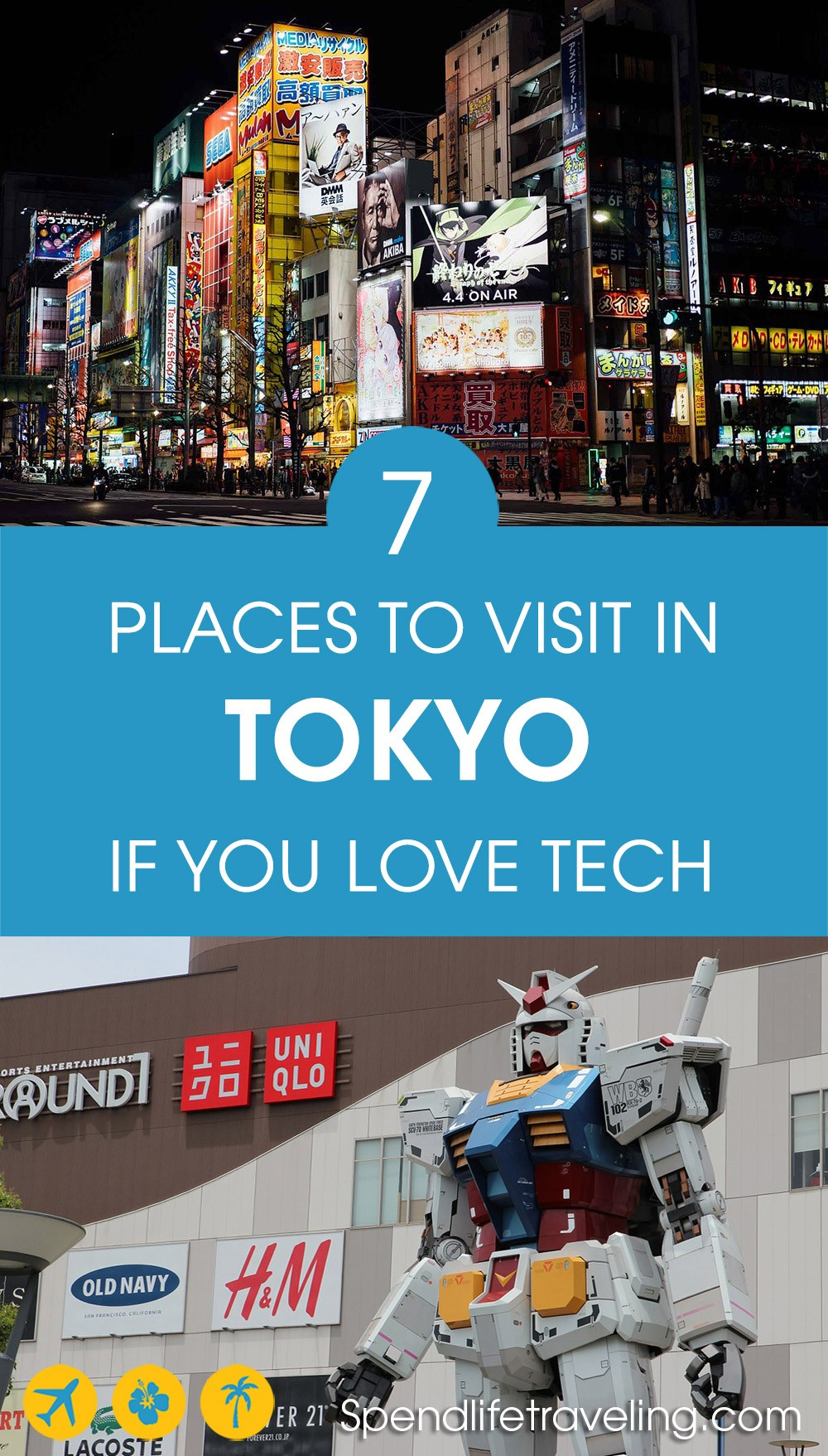tech things to do in Tokyo
