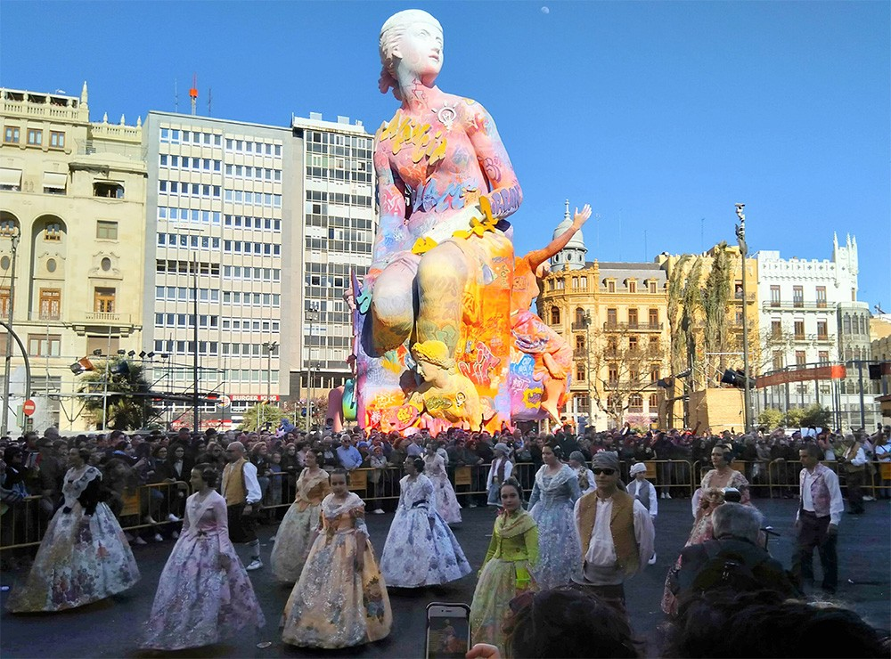 Things to know about Fallas in Valencia - prize giving ceremony