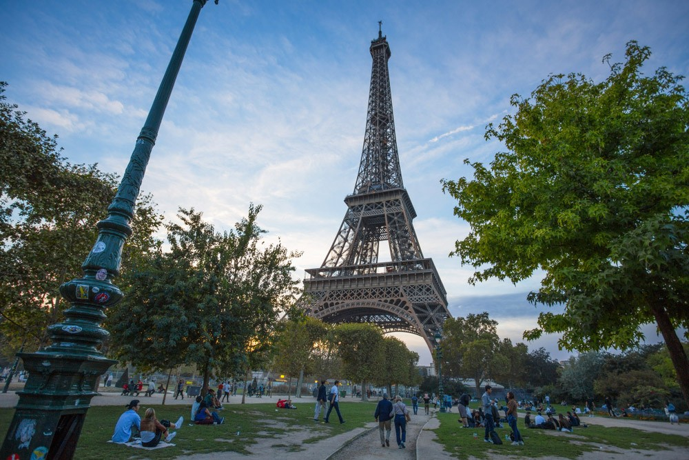 Paris in 4 days: Champ de Mars