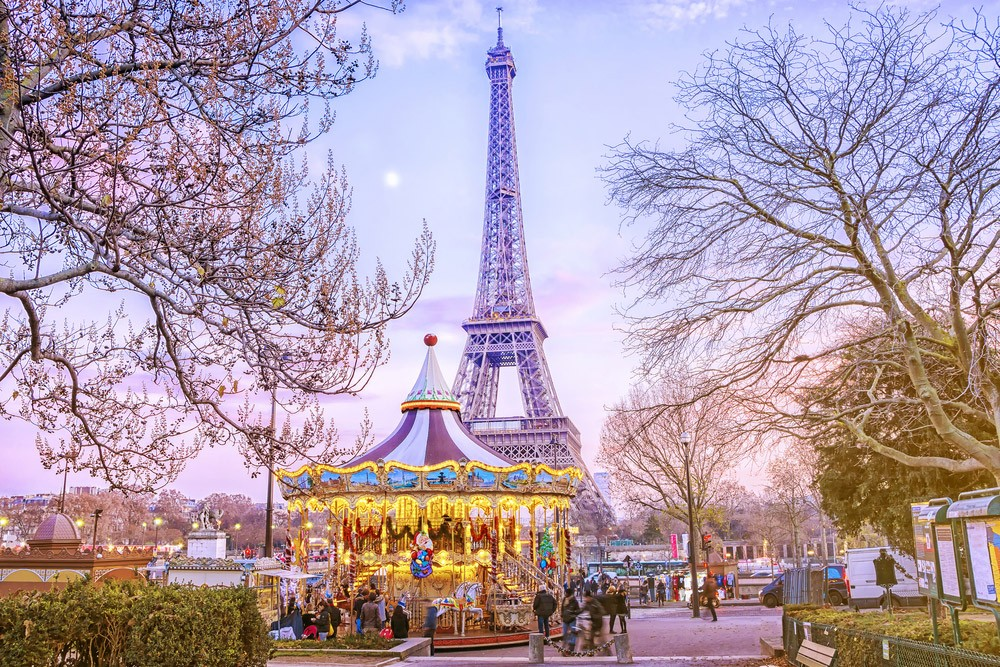 Paris itinerary: four days in Paris - Eiffel Tower