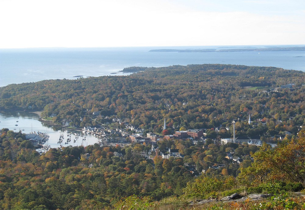 Where to go when RVing in Maine - Camden Hills State Park