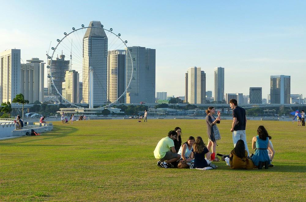 expat life in Singapore