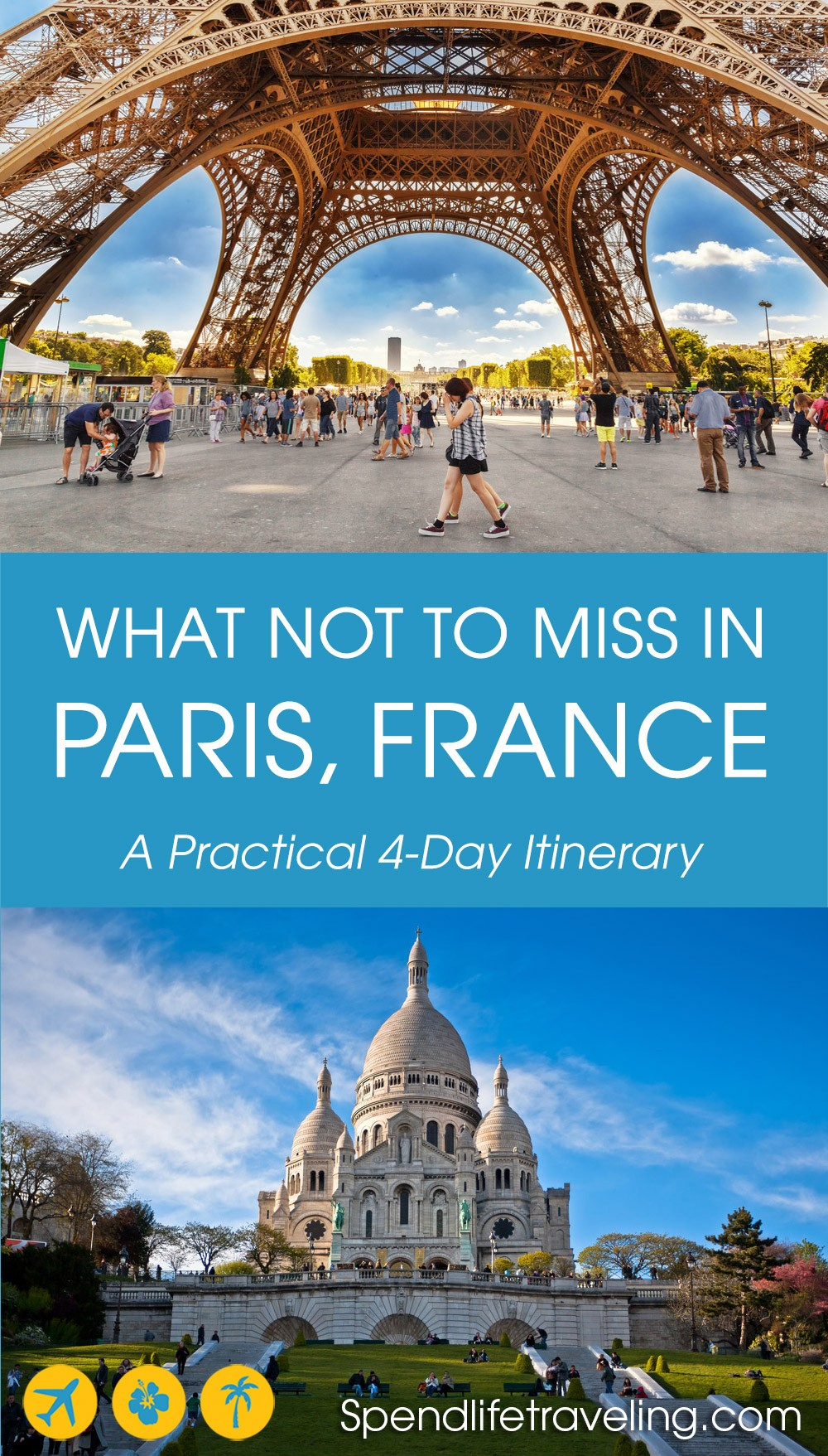 A practical itinerary for 4 days in Paris