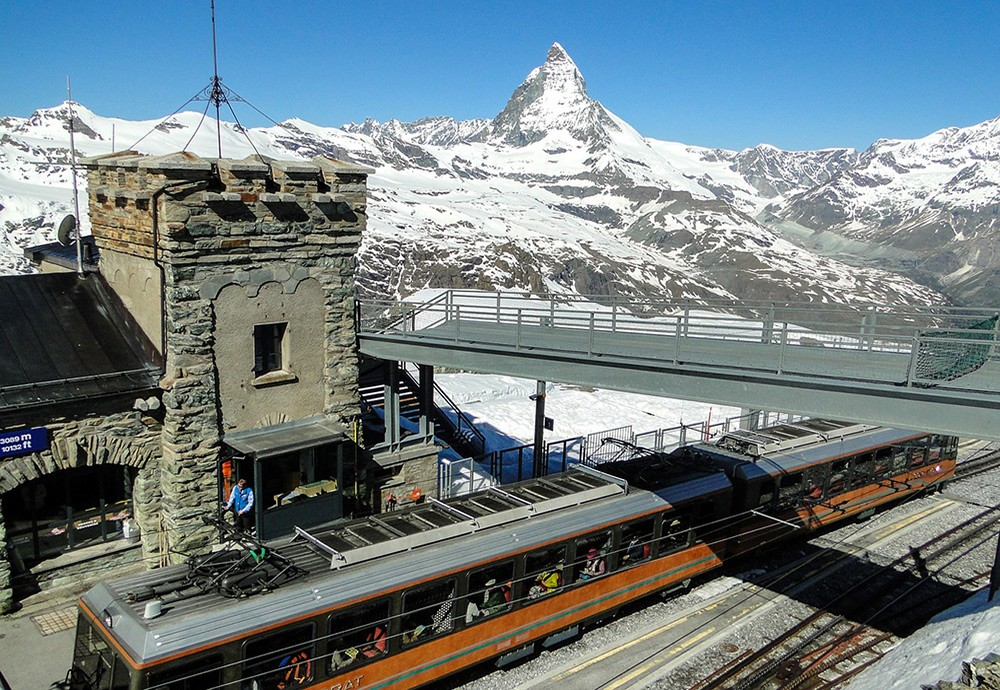 Places to go to for the best views in Switzerland: Gornergrat