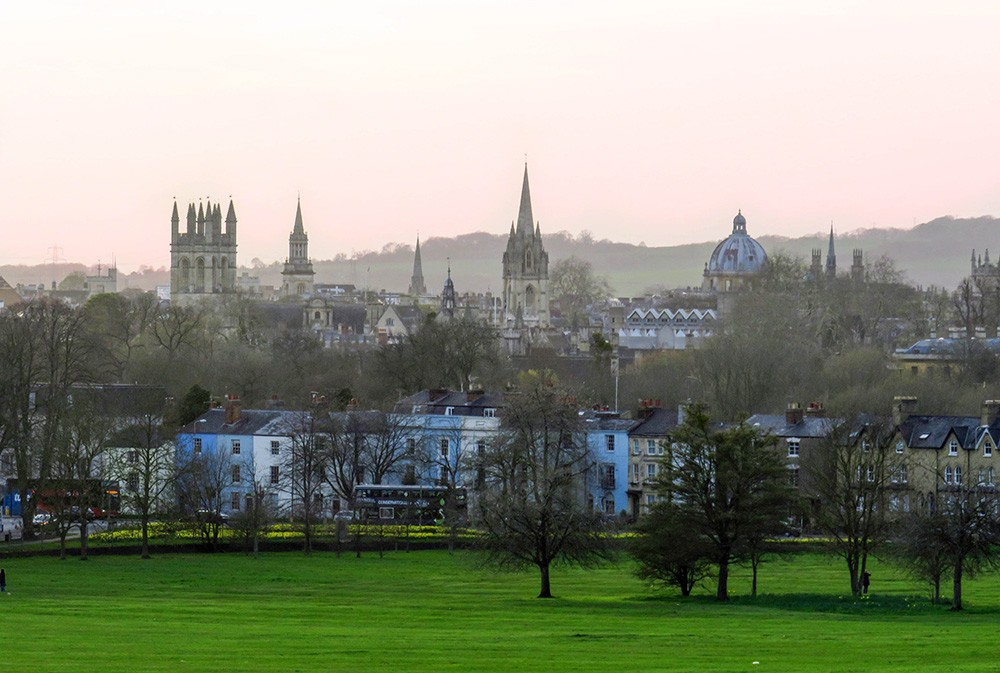 about life in Oxford, UK