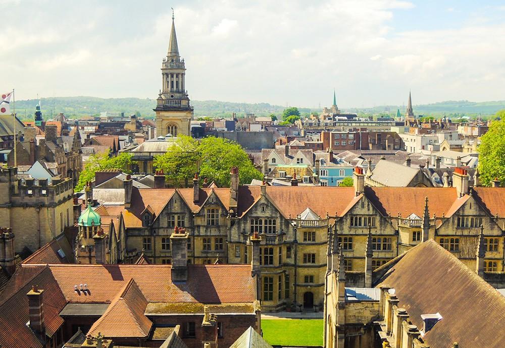 life in Oxford, UK