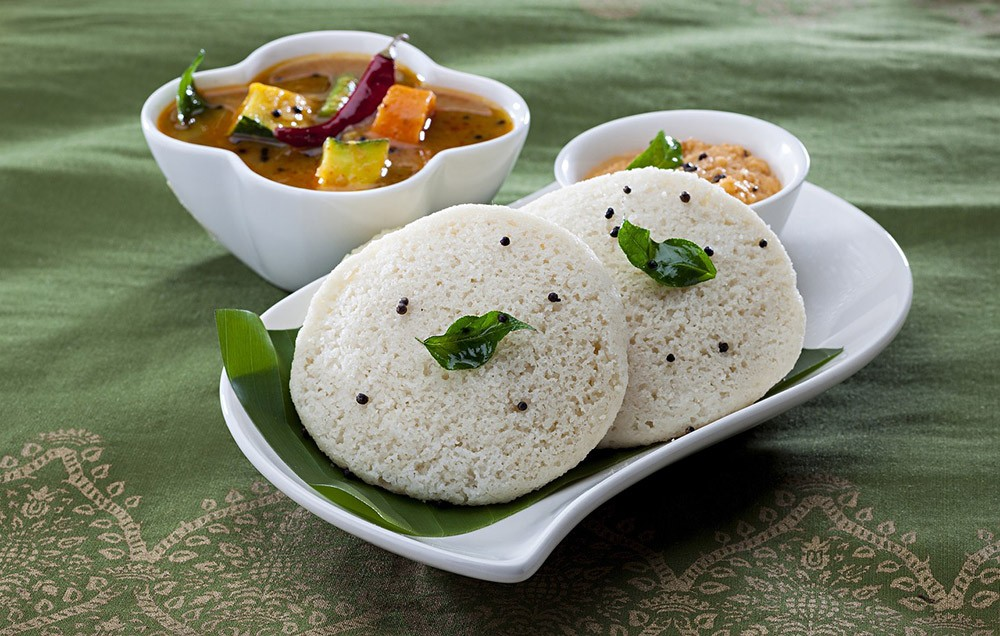Idli - food tour in Madurai