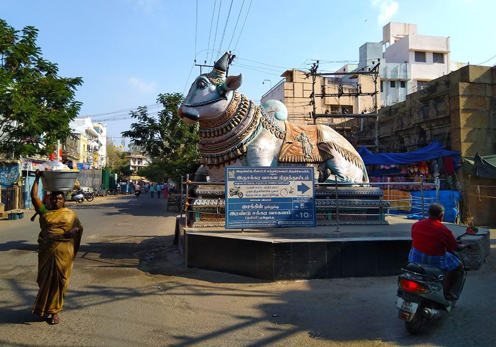 Trip to Madurai - Elu Kadal Street