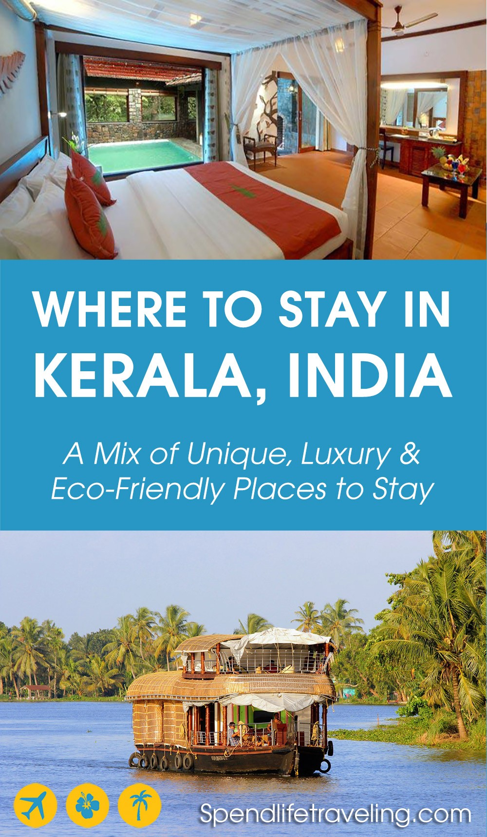 an article to help you find the best place to stay in Kerala