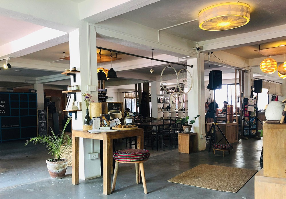 Best coffee shops in Kathmandu: HUB
