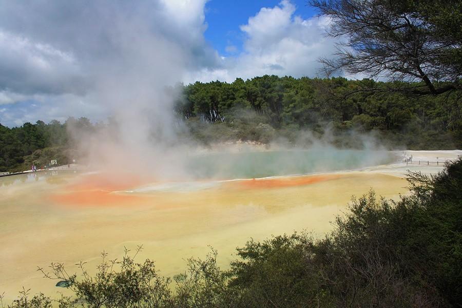 Hot springs - New Zealand itinerary North Island