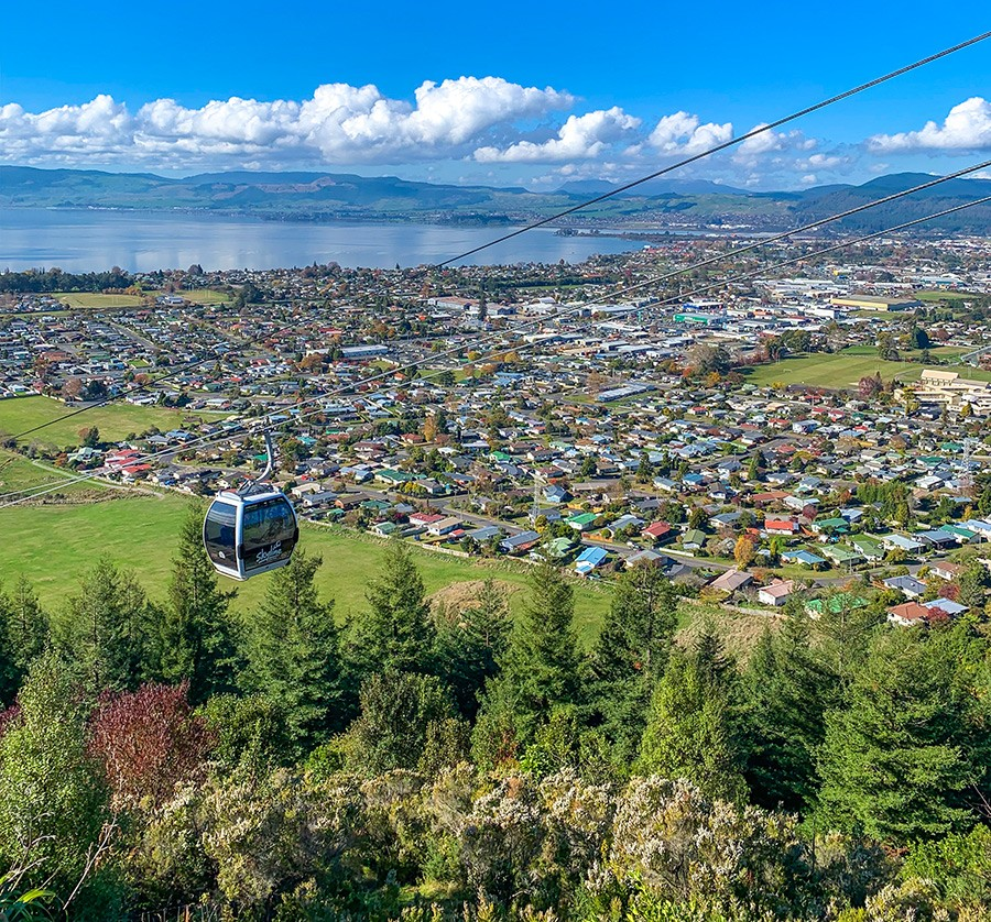 Gondola ride - part of your North Island road trip itinerary