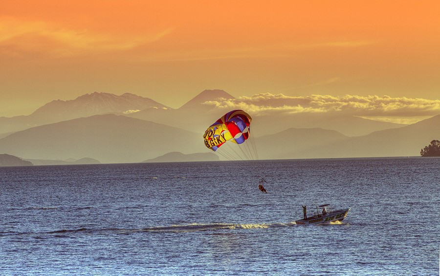Taupo - a must on your North Island road trip itinerary