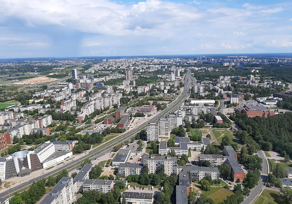 view for Vilnius TV Tower - restaurant in Vilnius