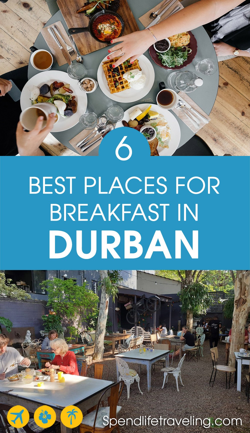 list of the best breakfast places in Durban