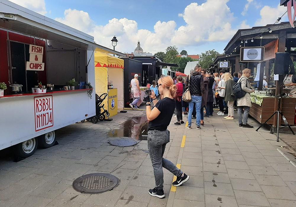 food trucks at Open Kitchen