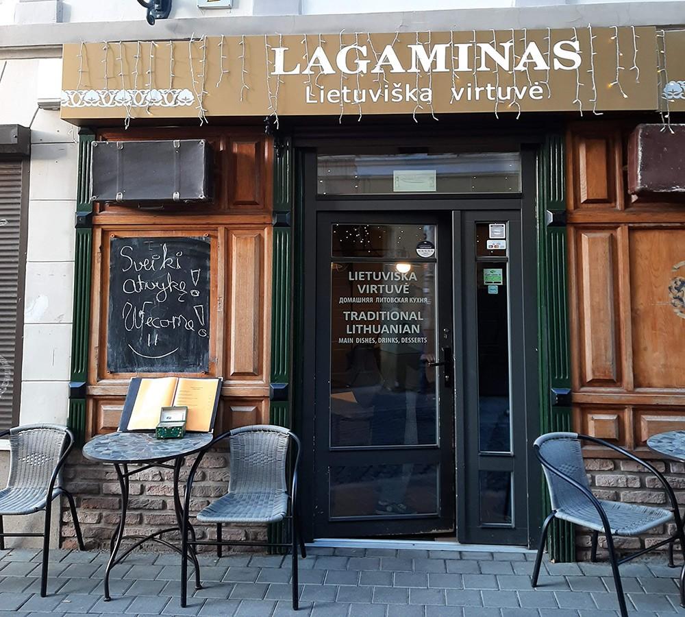 where to eat in Vilnius: Lagaminas