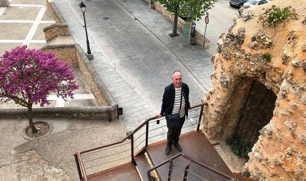 David about early retirement in Valencia, Spain