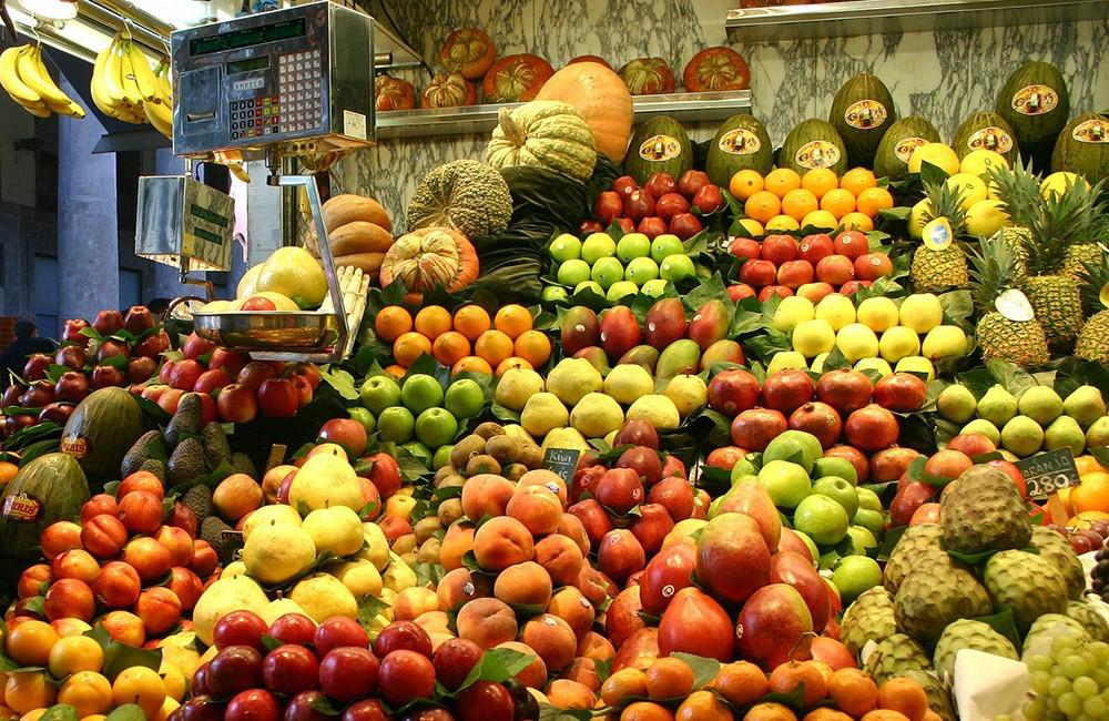 fresh produce in Spain