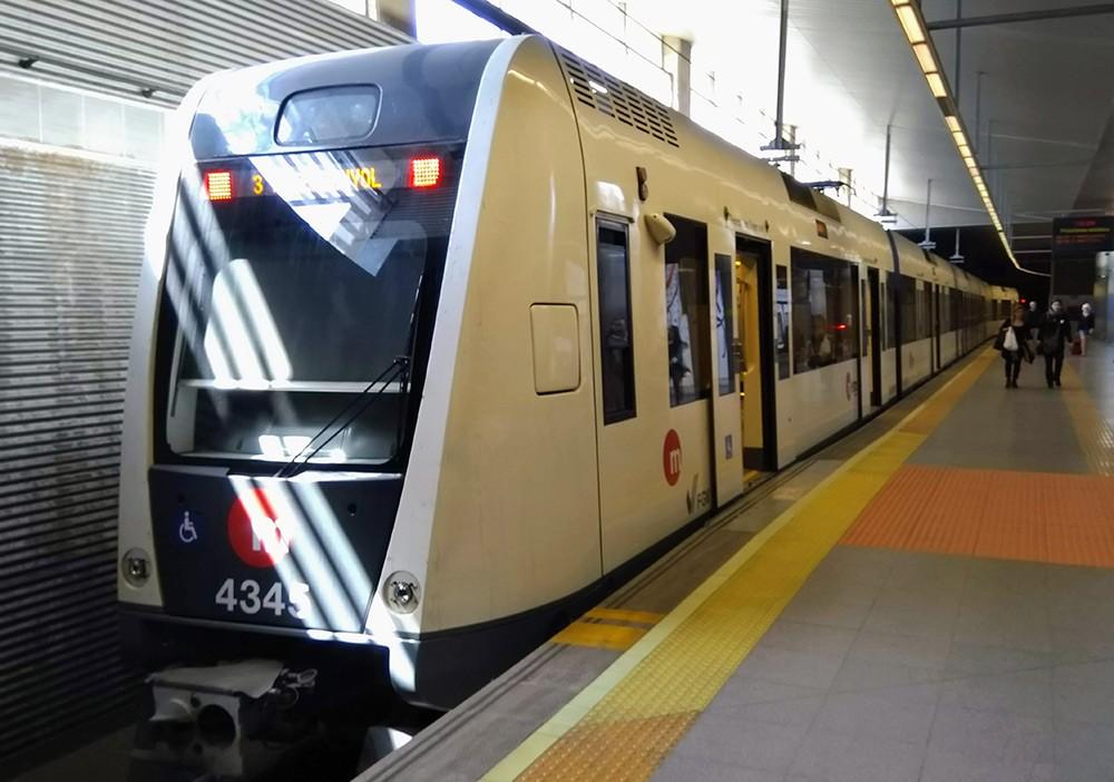 metro in Valencia